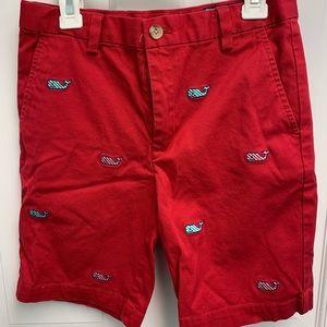 Vineyard Vines Boys holiday shorts